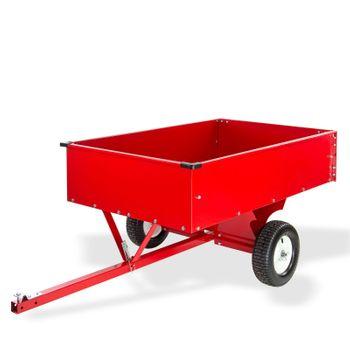 Transportanhänger Anhänger Transportwagen kippbar groß für Rasentraktor Quad ATV