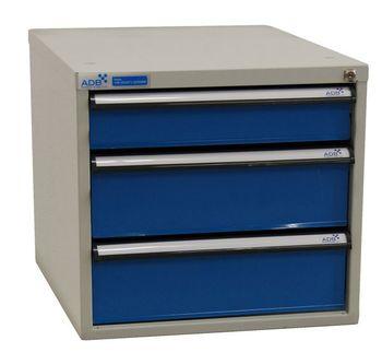 ADB Schubladenbox 500 mm 3·4·5 variable Schubladeneinteilung zur Auswahl – Bild 2