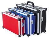 Vintec Werkzeugkoffer / Alukoffer Set VT 3 tlg. Blau Rot Schwarz 001