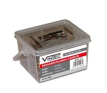 Vintec Edelstahlschrauben 4.5x50 TX 20