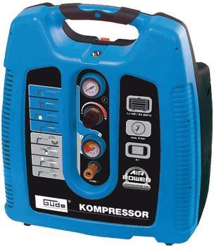 Güde Druckluft DL Kompressor AIRPOWER 200/08/6 Set 7 tlg 6l 8 bar – Bild 2