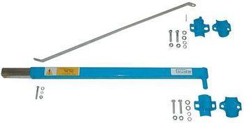 Güde Schwenkarm 1200  100 bis 600 kg passend zu Seilzug 55050/01706/01708 – Bild 1