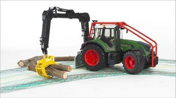 Bruder 03042 Fendt Traktor 936 Vario Forsttraktor – Bild 4