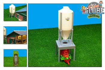 Van Manen Kids Globe 571856 Silo 30/36 cm mit Ständer Maßstab 1:32 – Bild 1