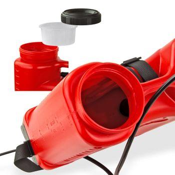 Rückenspritze Drucksprühgerät Drucksprüher Gartenspritze Pumpsprüher 18 Liter – Bild 3