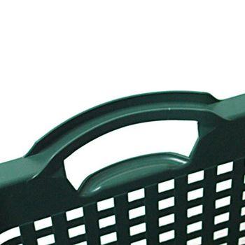 Uni Korb Gartenkorb Kunststoffkorb Plastikkorb Erntekorb 25 ltr. moosgrün – Bild 2