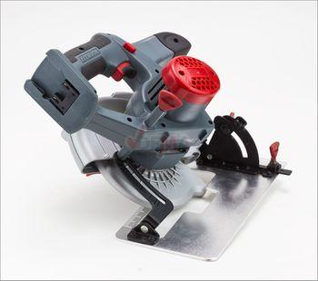 Akku Hand Kreissäge AK140 20V Li Ion mit Laser inkl. HSS Sägeblatt 140 mm – Bild 5