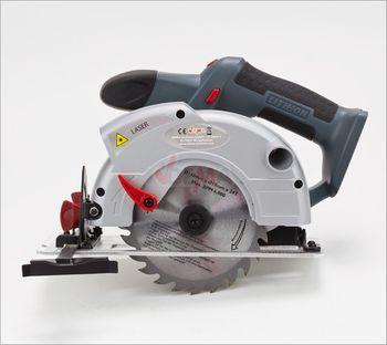 Akku Hand Kreissäge AK140 20V Li Ion mit Laser inkl. HSS Sägeblatt 140 mm – Bild 7