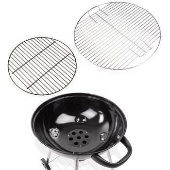 "Kugelgrill Grillwagen Grill Barbecue BBQ Profi ""Antigua"" Grillrost Ø 55 cm – Bild 3"