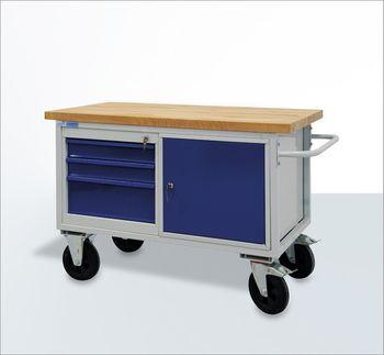 ADB Tischwagen | Werkstattwagen | Rollende Werkbank Mobil 3-6 Schubladen – Bild 3