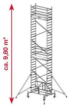 KRAUSE ProTec XS Alu FaltGerüst von 2,90m AH bis 11.80m AH – Bild 10