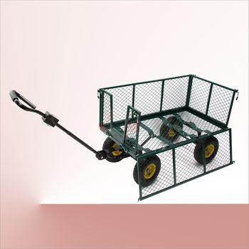 "Handwagen Planwagen Bollerwagen Transportwagen ""green"" – Bild 4"