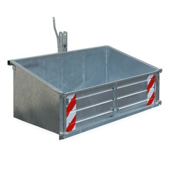 Traktor Heckcontainer Heckmulde Transportcontainer Mulde Container verz. 170 cm – Bild 2