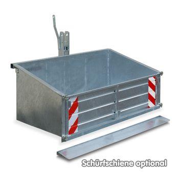 Traktor Heckcontainer Heckmulde Transportcontainer Mulde Container verz. 170 cm – Bild 7