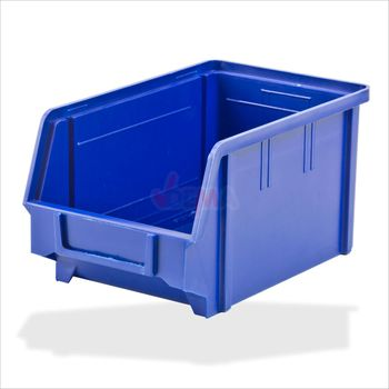Sichtlagerkasten / Stapelbox blau rot Gr. 1 / 2 / 3 / 4 / 5 – Bild 6