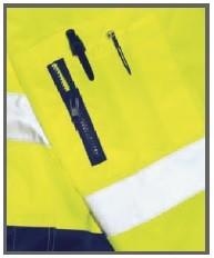 PLANAM Warnschutz Comfort Jacke Orange Gelb S M L XL XXL XXXL – Bild 2