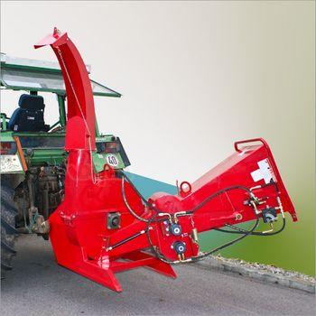 Holzhäcksler mit hydraulischem Vorschub WS 150 Gartenhäcksler Schredder – Bild 2