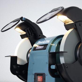 Makita Doppelschleifbock GB801 550 W 205mm – Bild 2