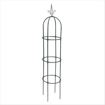 Dekorative Metall Rankhilfe Obelisk XXL Rankgitter Rosensäule Rosenturm Säule – Bild 5