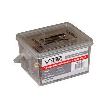 Vintec Spanplattenschrauben 4.5 x 50 / 30 TX
