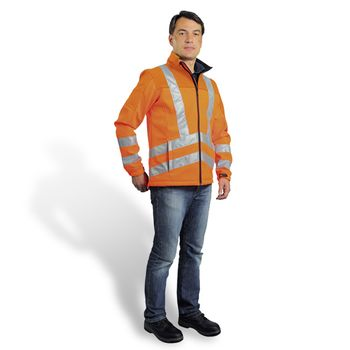 Watex Warnjacke Softshell Jacke orange S · M · L · XL · XXL · XXXL