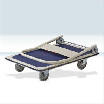 Plattformwagen Transportwagen 150 · 300 kg mit klappbarem Griff – Bild 4