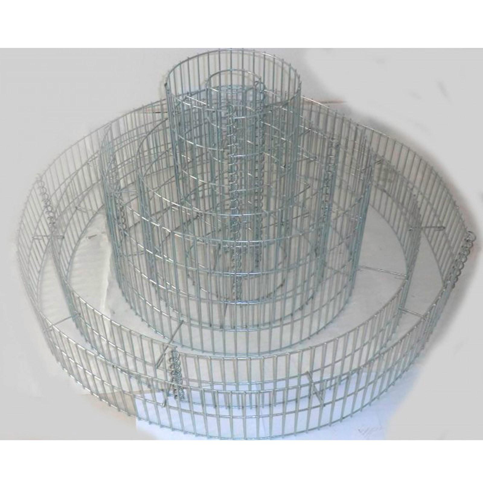 blumenpyramide gabione garten ring 20x140 40x80 60x40. Black Bedroom Furniture Sets. Home Design Ideas