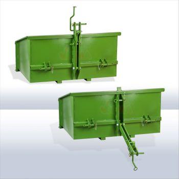 Heckcontainer Heckmulde Kippmulde Mulde Kippcontainer 1200S Kat 1 + 2 grün – Bild 4