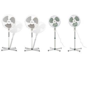 4x Standventilator Ventilator 3 Stufen 43 cm Klimagerät – Bild 1