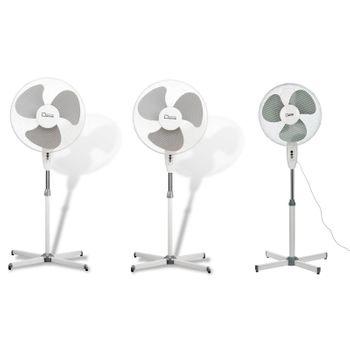 3x Standventilator Ventilator 3 Stufen 43 cm Klimagerät – Bild 1