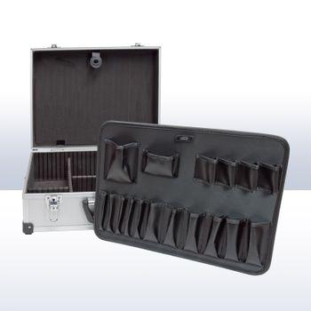 Alukoffer Werkzeug Koffer XL 46x34x17 cm abschließbar – Bild 4