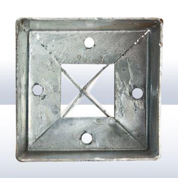 Pfosten Einschlagbodenhülse 135/140 x 750 mm versch. Größen 71x71 91x91 101x101 – Bild 5