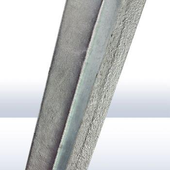 Pfosten Einschlagbodenhülse 135/140 x 900 mm versch. Größen 71 · 91 · 101 · 121 – Bild 3