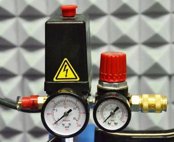 Güde Druckluft Kompressor 335/10/100 2 Zylinder – Bild 3