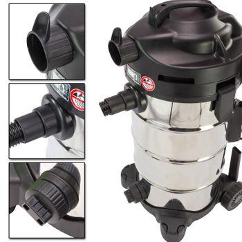 Nass- Trockensauger 45 Liter 1400 Watt NTS 45 Staubsauger Sauger Nasssauger – Bild 3