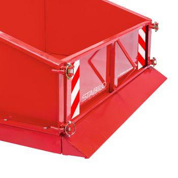 Traktor Heckcontainer Heckmulde Transportcontainer Mulde Container 100 cm Kat I – Bild 5