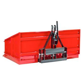 Traktor Heckcontainer Heckmulde Transportcontainer Mulde Container 100 cm Kat I – Bild 4