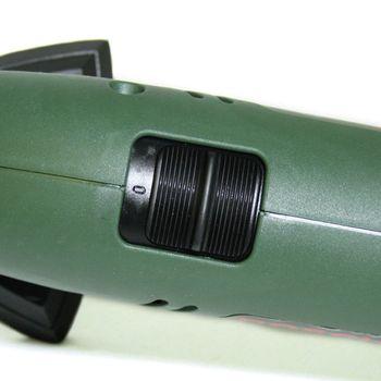 Bosch PDA 180 Deltaschleifer + 3 Schleifblätter (180 W, Schwingzahl 18.400 1/min) – Bild 5