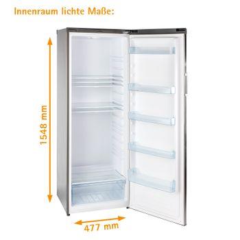Großer Kühlschrank Großraumkühlschrank ohne Gefrierfach DKS340X A++ freistehend – Bild 7