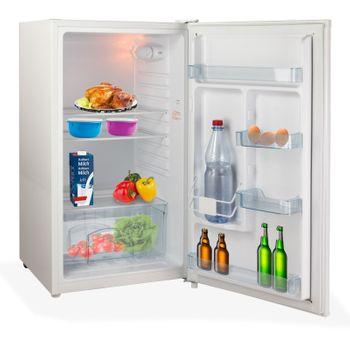 Kühlschrank Tischkühlschrank Bürokühlschrank Minikühlschrank weiß 93 L A+ – Bild 7