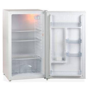 Kühlschrank Tischkühlschrank Bürokühlschrank Minikühlschrank weiß 93 L A+ – Bild 2