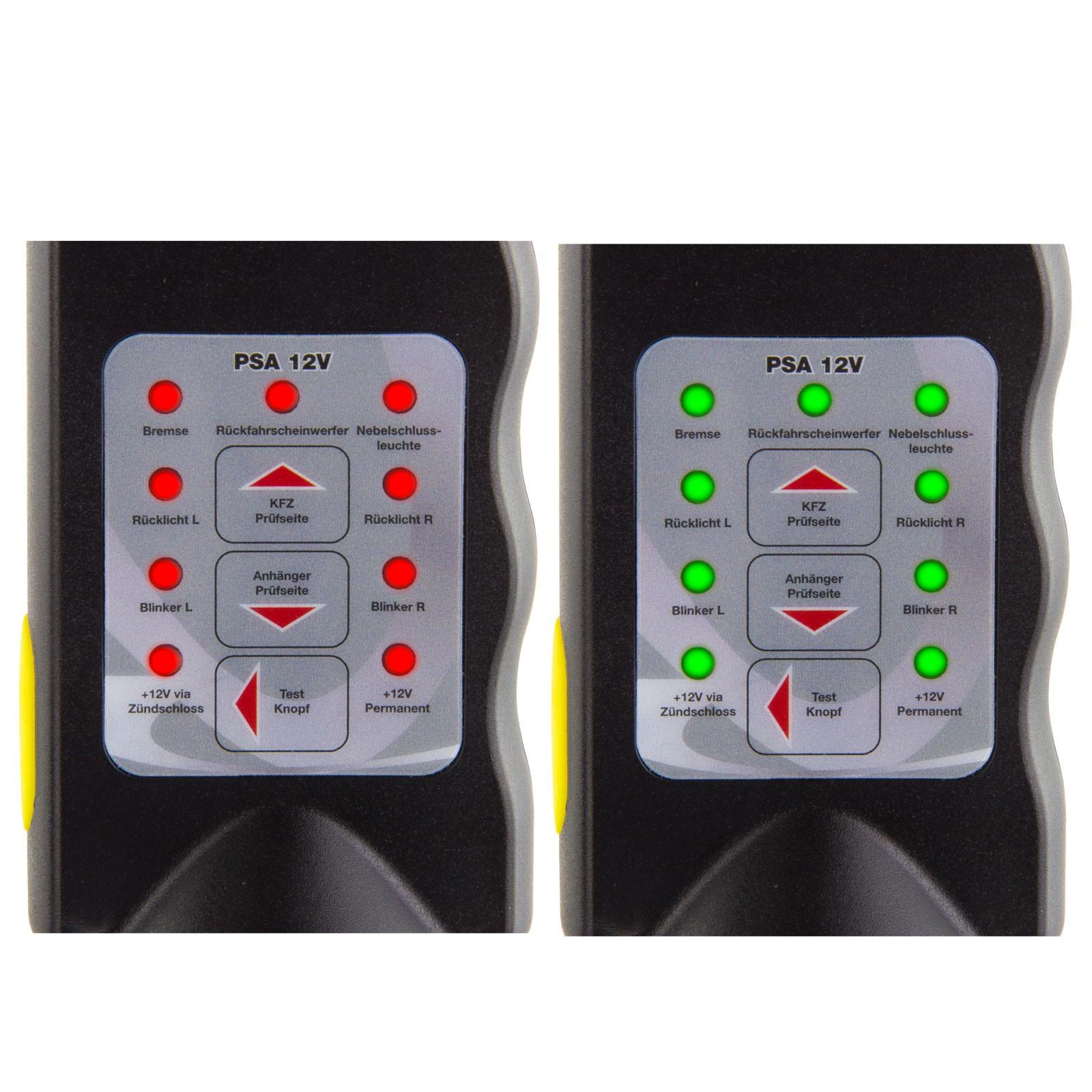 Prüfstecker 13 polig Beleuchtungstester Steckdosen Tester für ...