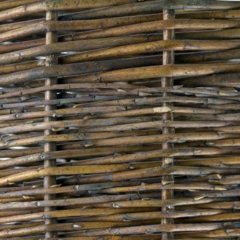 Weidenkorb Obstkorb Erntekorb Holzkorb Dekokorb Gartenkorb Korb geflochten 50 cm – Bild 4