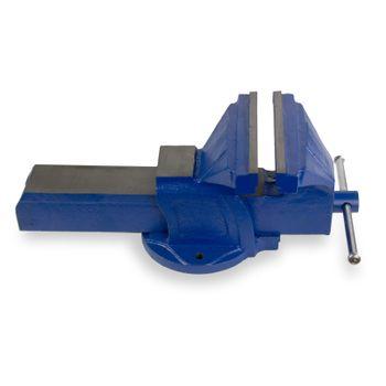 Guß Schraubstock Werkstatt Werkbank Tischschraubstock 200 mm 24,5Kg blau – Bild 3