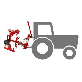 Traktor Einschar - Drehpflug Beetpflug Ackerpflug Einscharpflug Pflug DDF1 – Bild 7