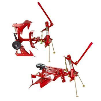 Traktor Einschar - Drehpflug Beetpflug Ackerpflug Einscharpflug Pflug DDF1 – Bild 2