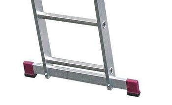 KRAUSE Corda Alu Leitergerüst 2x6 • 2x7 Sprossen Leitern Gerüst EN 131-1 – Bild 5