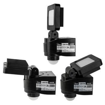 LED - Strahler für außen Außenleuchte 10 W Watt mit Sensor Bewegungsmelder – Bild 6