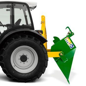 Traktor Schlepper Kat 1 + 2 I + II Heckschaufel Schaufel DHS 140 cm Last 400 kg – Bild 7