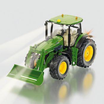 SIKU Control Spielzeug Traktor John Deere 7R mit Frontlader ferngesteuert / 6777 – Bild 1